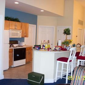 Wyndham at The Cottages - Unit Kitchen
