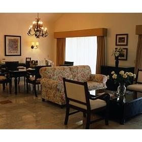 Unit Living and Dining Area at Occidental Royal Hideaway Playacar
