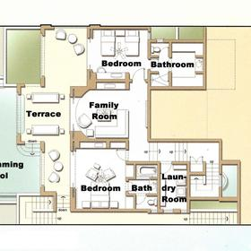 Montecristo Estates by Pueblo Bonito - Unit Floor Plan