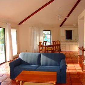 Costa Maya Reef Resort - Unit Living Area