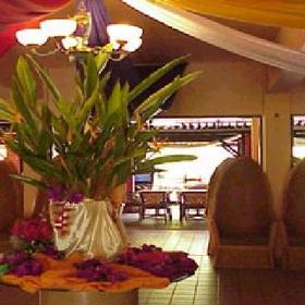 Bayu Beach Resort — Lobby at the