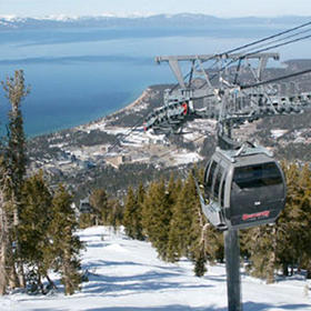 Wyndham South Shore — Nearby skiing at Heavenly