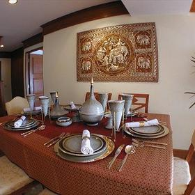 Dining Room at the QVC @ Andaman Beach Resort