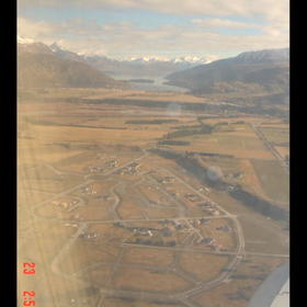 Queenstown Mews - From Plane