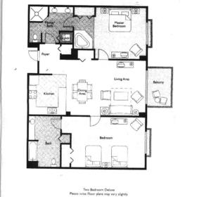 Wyndham Royal Vista - Unit Floor Plan