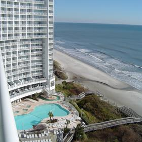 Wyndham SeaWatch Plantation — - View From South Tower