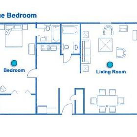 Sea Mist Resort - Unit Floor Plan