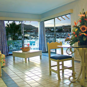 Marina Fiesta Resort - Unit Living & Dining Areas