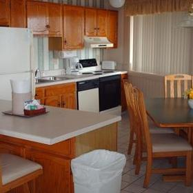 Outer Banks Beach Club - Unit Kitchen