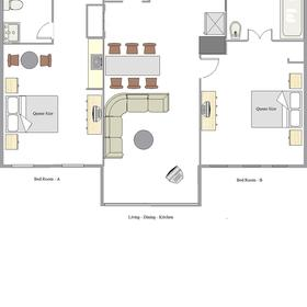 Ocean Beach Club - Unit Floor plan