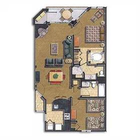 Crown Park Resort - Unit Floor Plan