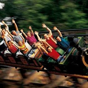 Silver Dollar City Roller Coaster