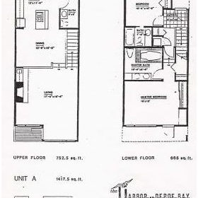 The Harbor at Depoe Bay - Unit Floor Plans
