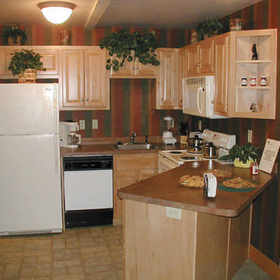 Westgate Smoky Mountain Resort at Gatlinburg - Unit Kitchen