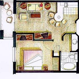 Varsity Clubs of America - South Bend Chapter - Unit Floor Plan