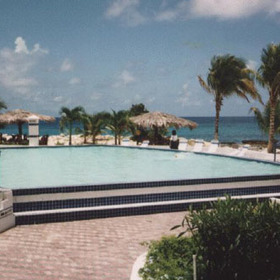 Flamingo Beach Resort — - outdoor pool