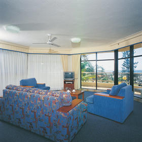 Beach House Seaside Resort — - unit interior
