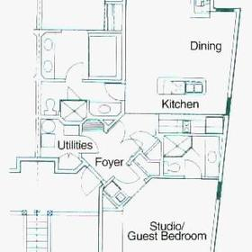 Carriage Hills Resort — - Unit Floor Plan