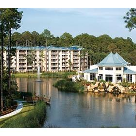 Marriott's SurfWatch - Aerial view of Spa and Lagoon