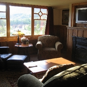 The Whiteface Lodge — - Unit Living Area