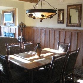 The Whiteface Lodge — - Unit Dining Area