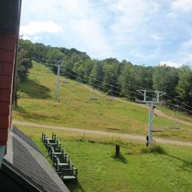 Grand Summit Resort Hotel - Mt. Snow — Sample view from unit balcony.