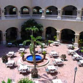 Hard Rock Hotel Riviera Maya — Courtyard