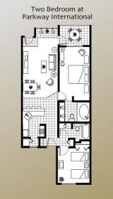 Parkway International Resort - Floor Plan