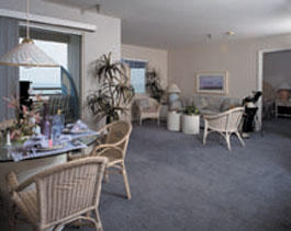 Riviera Beach and Spa Resort I & II - Unit Dining & Living Areas