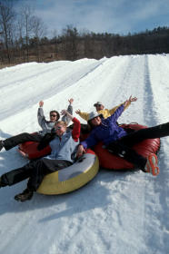 Massanutten's Mountainside Villas - snow fun