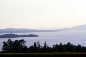Rangeley Lake Resort - View From Resort