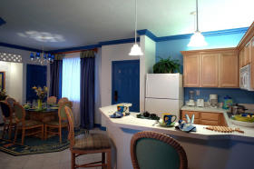 Unit Dining Area & Kitchen