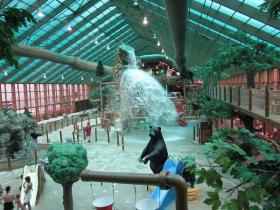 Wild Bear Falls Indoor Waterpark on-site