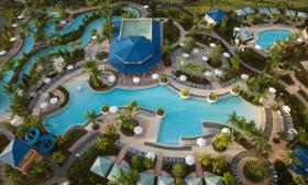 Arial View of Pools