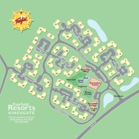 Wyndham Kingsgate - resort layout