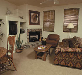 WorldMark Bison Ranch Resort - Unit Living Area