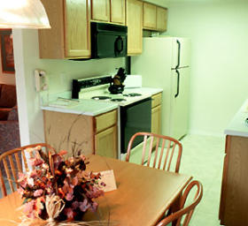 WorldMark Bass Lake - Unit Kitchen & Dining Area