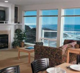 WorldMark Depoe Bay - Living Area