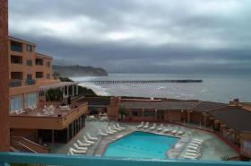 San Luis Bay Inn - View From Balcony
