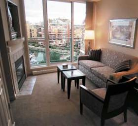 WorldMark Victoria Resort - Unit Living Area
