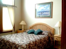 Bedroom at Point Brown Resort