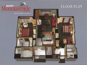 Marriott's MountainSide at Park City - Unit Floor Plan