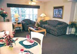 Surrey Vacation Resort/Carriage Place - Unit Dining Area