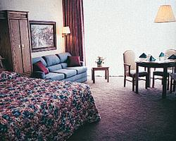 Unit Bedroom at the Plaza Resort Club