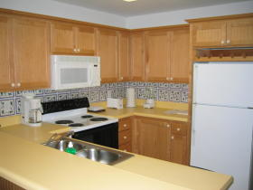 The Reef Resort - Unit Kitchen