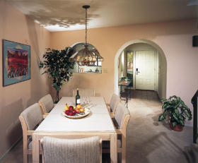 Villas of Sedona - Unit Dining Area
