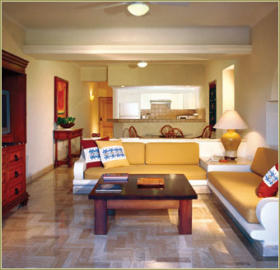 Club Velas Vallarta - Unit Living Area