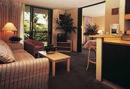 Royal Aloha Village by the Sea - Unit Living Area