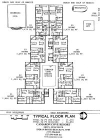 Camaron Cove - Floor Plans