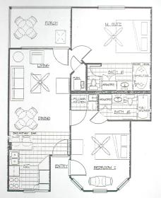 Silverleaf's Holiday Hills - Unit Floor Plan